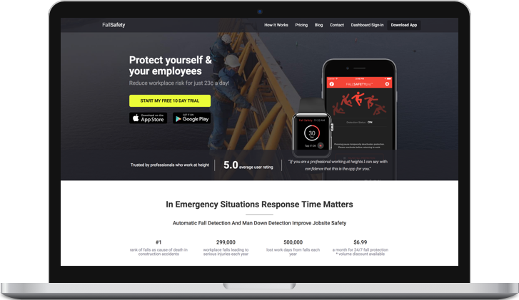 FallSafety Website